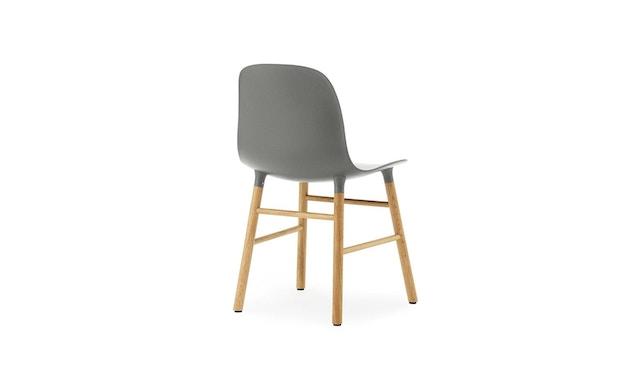 Normann Copenhagen - Form Stuhl mit Holzgestell - grau - Eiche - 2