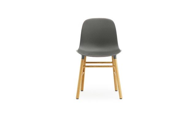 Normann Copenhagen - Form Stuhl mit Holzgestell - grau - Eiche - 4