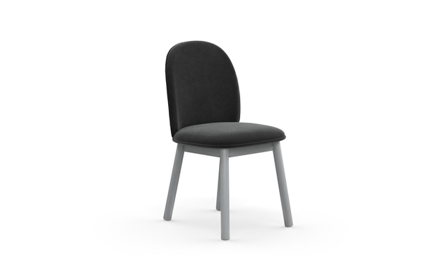 Normann Copenhagen - Ace Chair Velours - gris - 1