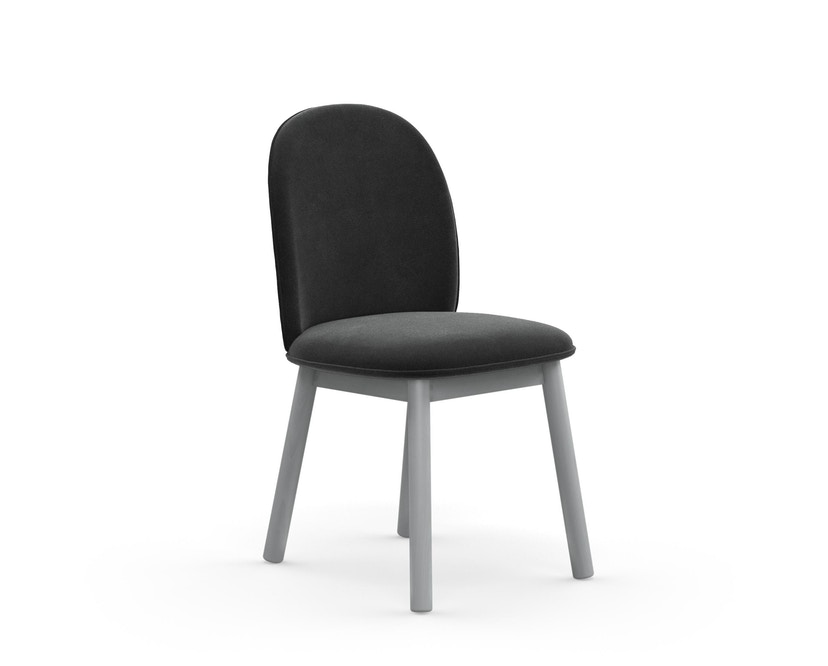 Normann Copenhagen - Ace Chair Velours - grey - 1