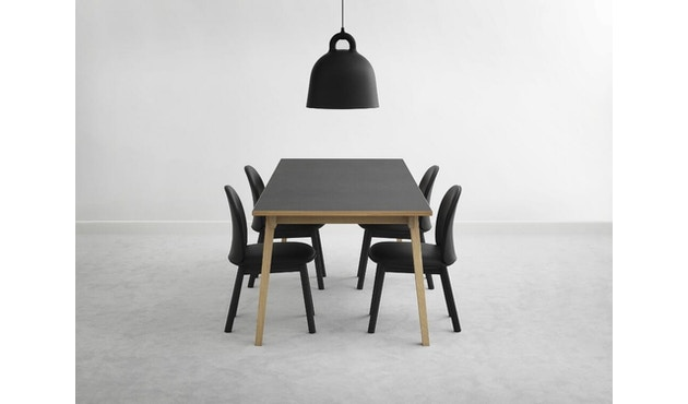 Normann Copenhagen - Ace Chair Velours - gris - 6
