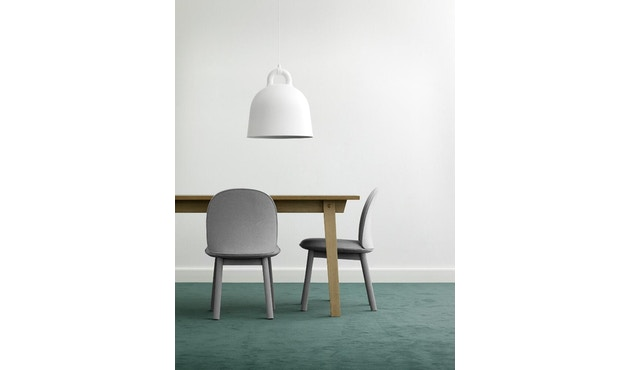Normann Copenhagen - Ace Chair Velours - gris - 7