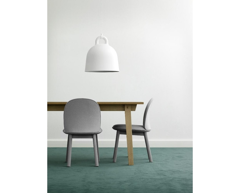 Normann Copenhagen - Ace Chair Velours - grey - 7