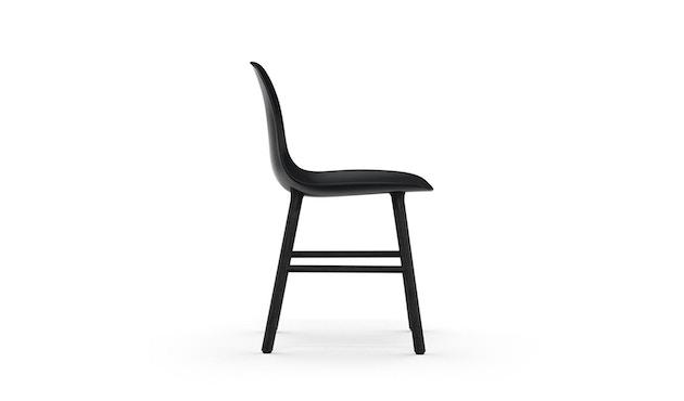Normann Copenhagen - Chaise Form avec structure en bois - chêne noir - noir - 3