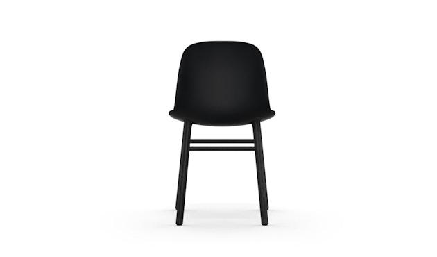 Normann Copenhagen - Chaise Form avec structure en bois - chêne noir - noir - 4