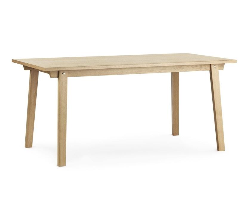 Normann Copenhagen - Slice Tisch Vol.2 - oak - 84 x 160 cm - 1