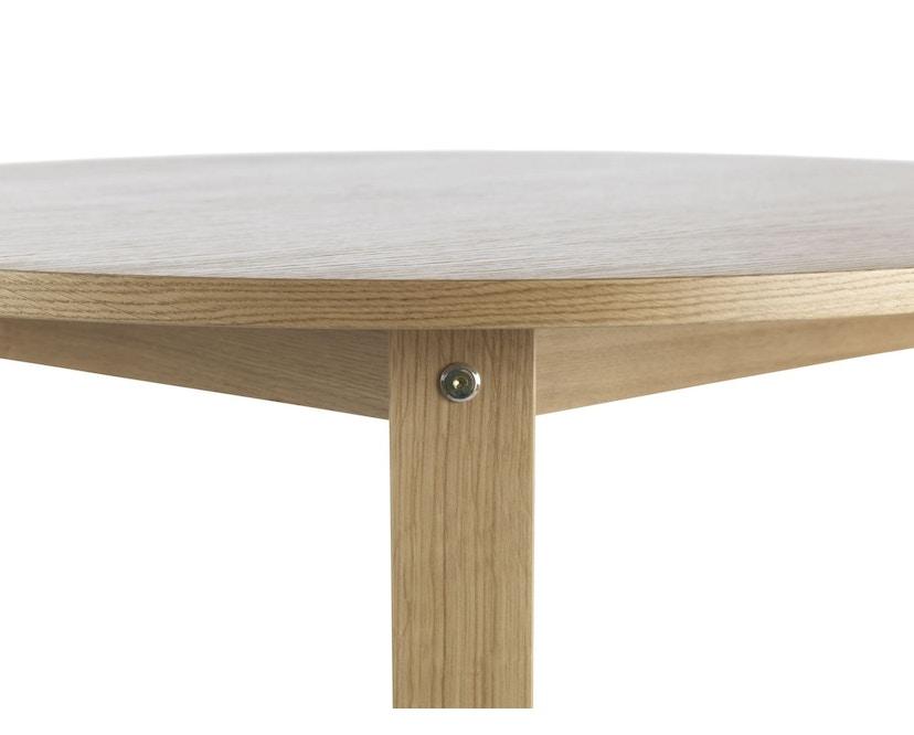 Normann Copenhagen - Slice Tisch Vol.2 - oak - Ø 95 cm - 4