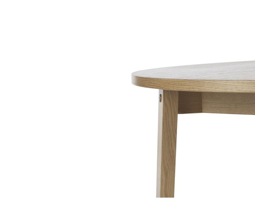 Normann Copenhagen - Slice Tisch Vol.2 - oak - Ø 95 cm - 5
