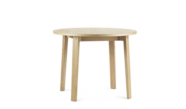 Normann Copenhagen - Slice Tisch Vol.2 - oak - Ø 95 cm - 2
