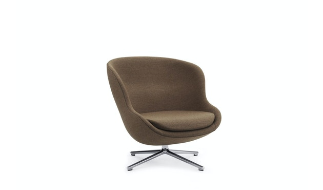 Hyg drehbarer Lounge-Sessel - braun LDS37