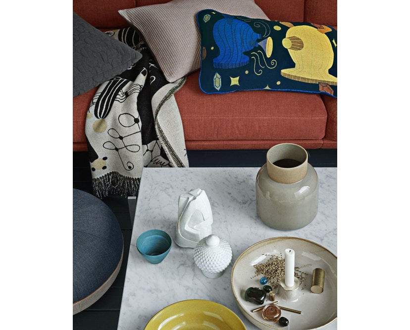 Fritz Hansen - Pouf Small - Slate - 4