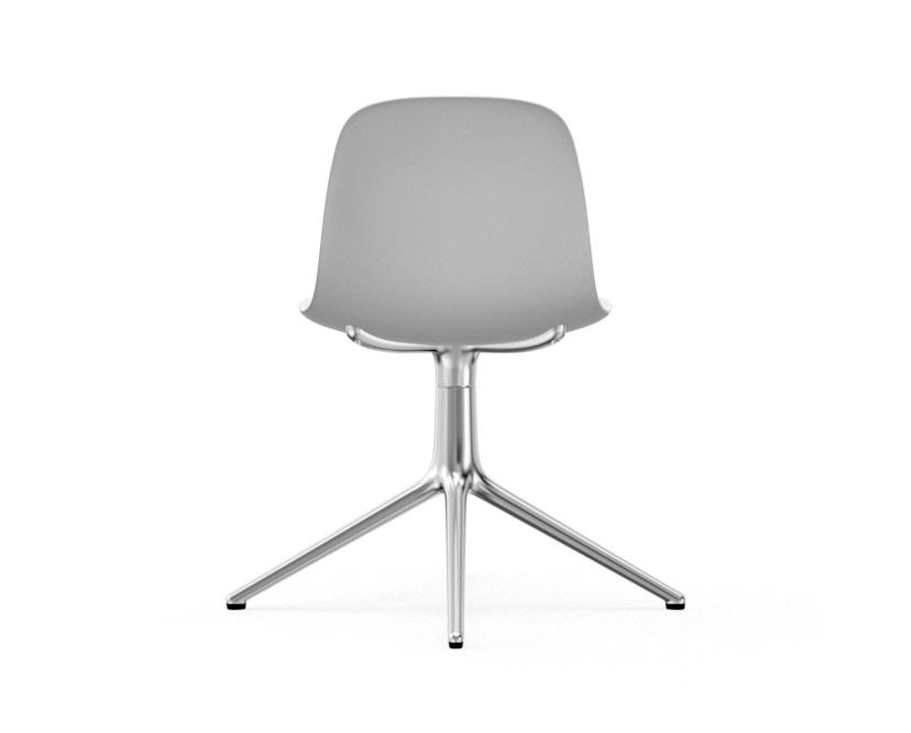 Normann Copenhagen - Form Drehstuhl - Gestell Aluminium - White - 4