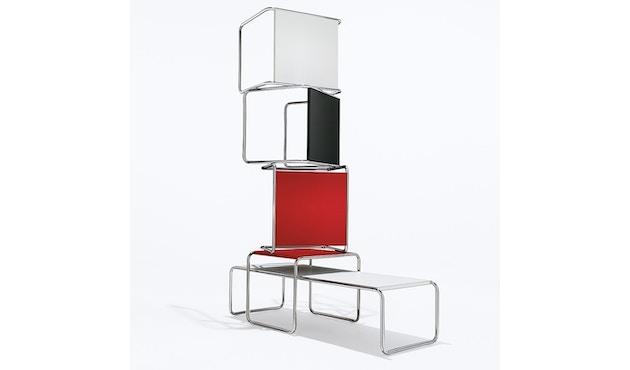 Knoll International - Breuer Laccio Tisch - klein - Laminat schwarz  - 1