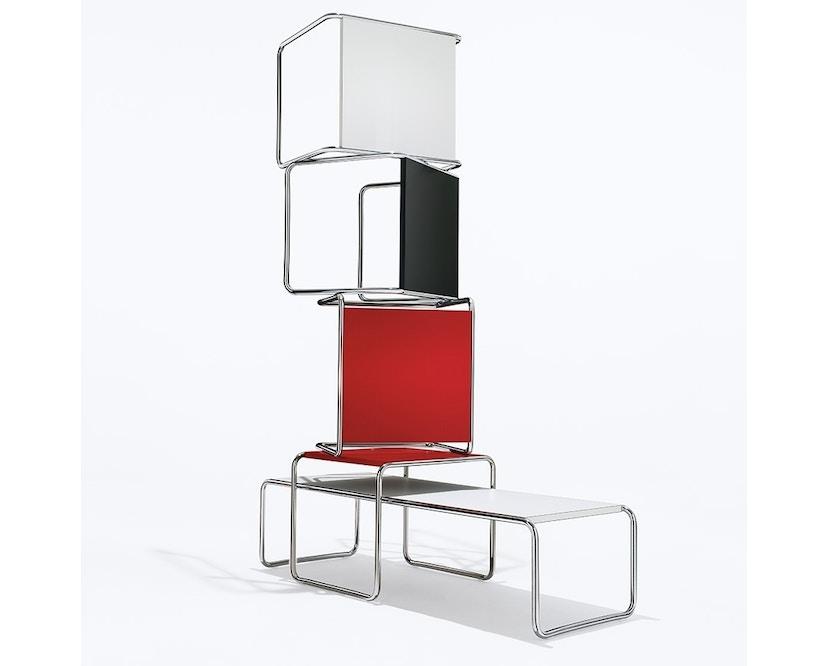 Knoll International - Breuer Laccio Tisch - klein - Laminat rot - 1