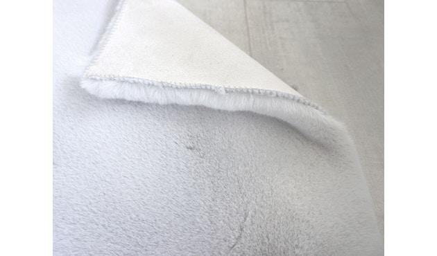 SCHÖNER WOHNEN-Kollektion - Tender Teppich - ø 120 cm - silber - 3