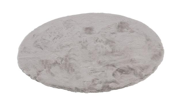 SCHÖNER WOHNEN-Kollektion - Tender Teppich - ø 120 cm - silber - 2