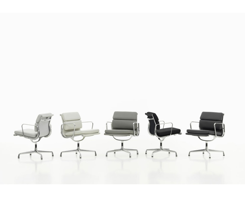 Vitra - Aluminium Chair - Soft Pad - EA 223 - Hocker - 17