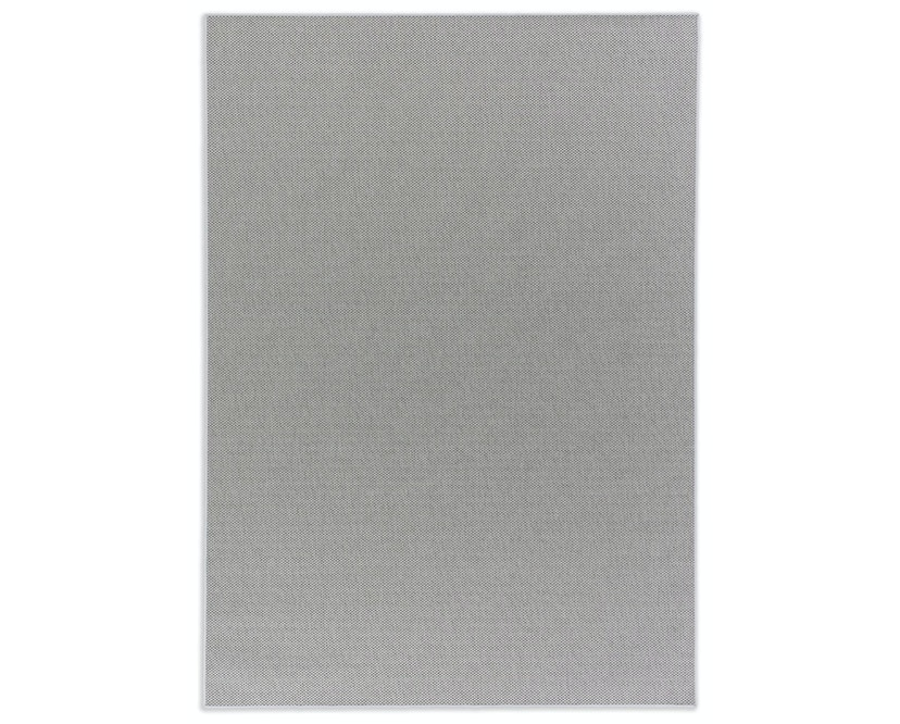 SCHÖNER WOHNEN-Kollektion - Yucca Teppich - 70 x 140 cm - Bordüre: dunkelgrau - silber - 1