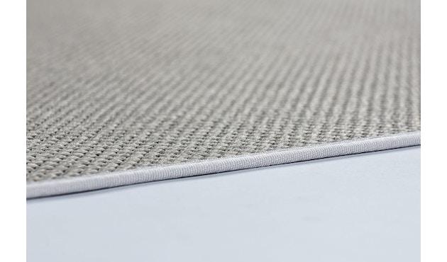SCHÖNER WOHNEN-Kollektion - Yucca Teppich - 70 x 140 cm - Bordüre: dunkelgrau - silber - 3