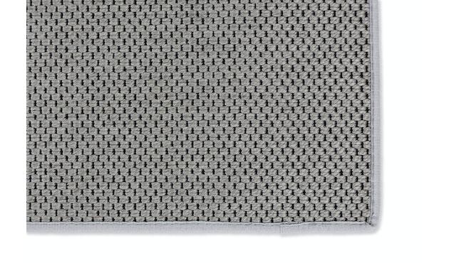 SCHÖNER WOHNEN-Kollektion - Yucca Teppich - 70 x 140 cm - Bordüre: dunkelgrau - silber - 4