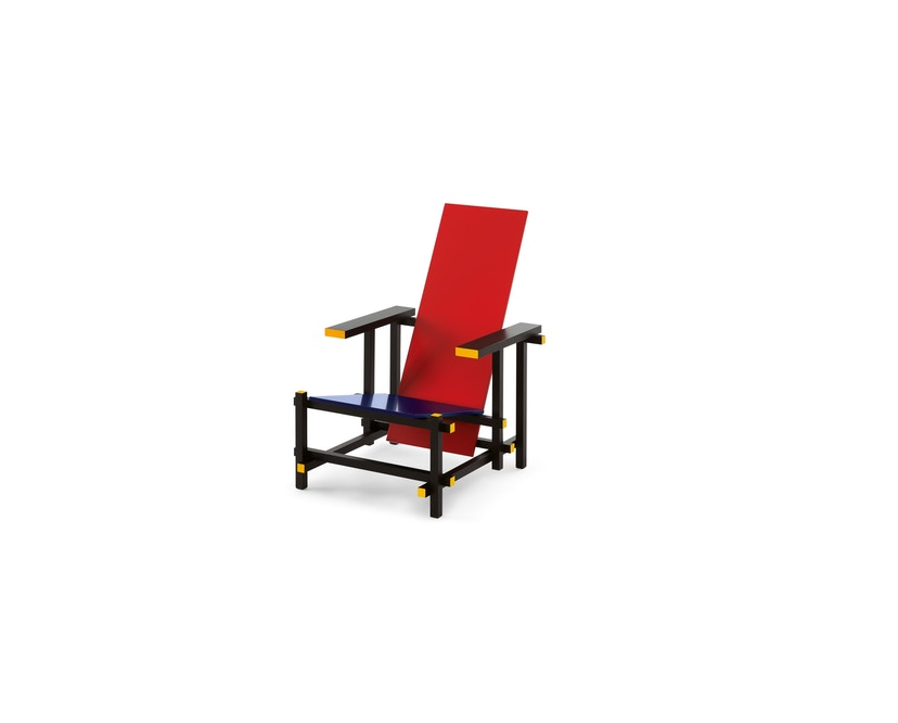 Cassina - Red and Blue stoel - Red and Blue Mix - 1