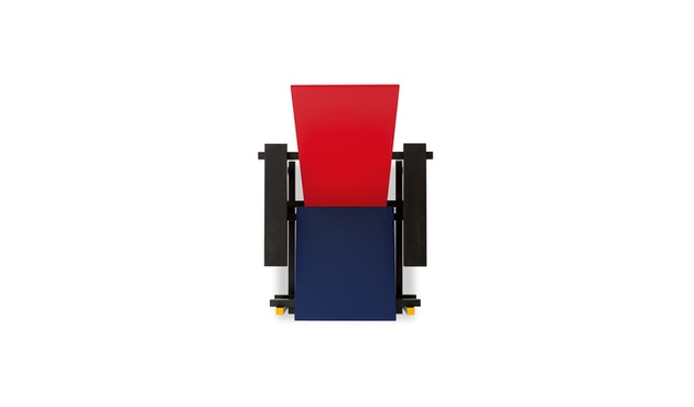 Cassina - Red and Blue stoel - Red and Blue Mix - 2