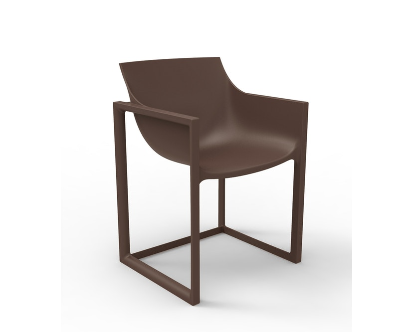 Vondom - Wall Street Armlehnstuhl - bronze - 0