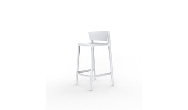 Vondom - Africa Barhocker - Höhe 85 cm - weiß - 0