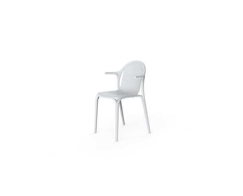 Vondom - Brooklyn Armlehnstuhl - weiß - 0