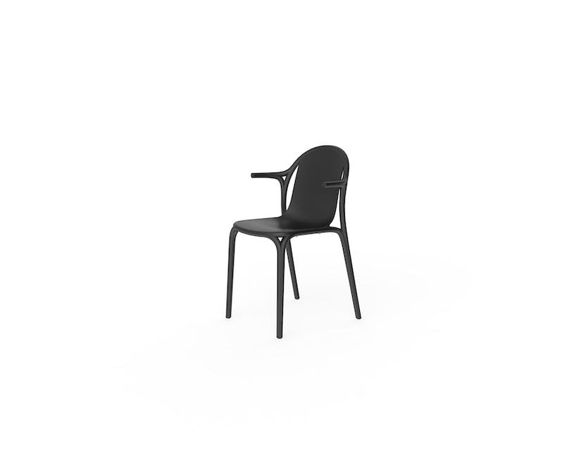 Vondom - Brooklyn Armlehnstuhl - schwarz - 0