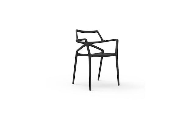Vondom - Delta Armlehnstuhl - schwarz - 1