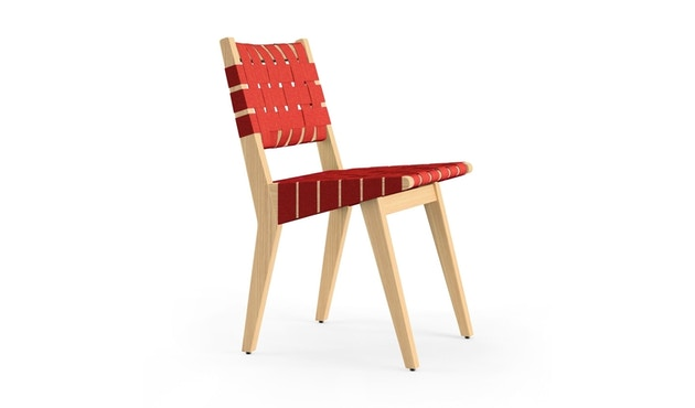 Knoll International - Risom Side Stuhl - rot - 1