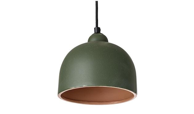 Bloomingville - Pendelleuchte, Grün, Steinzeug - 0