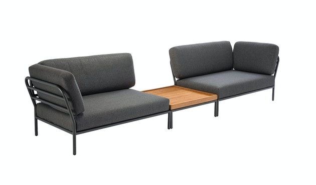 Houe - Level Lounge sofa - Armleuning links - Basic - donkergrijs - 4