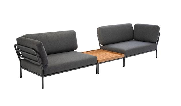 Houe - Level Lounge Sofa - grau - Armlehne links - 4