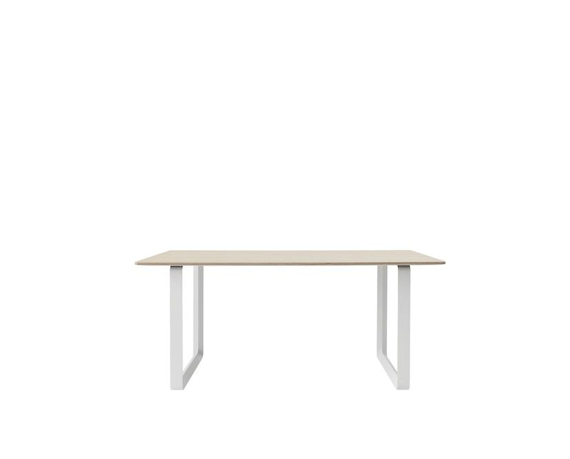 Muuto - Table 70/70 - blanc - Chêne - S - 3