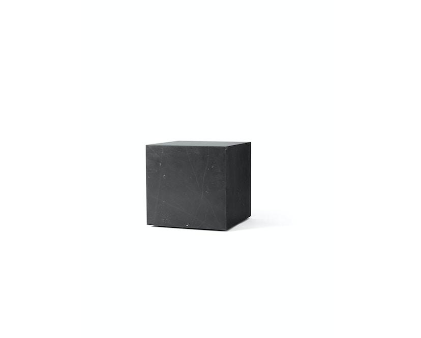 Menu - Plinth Tisch - zwart marmer - cubic - 1