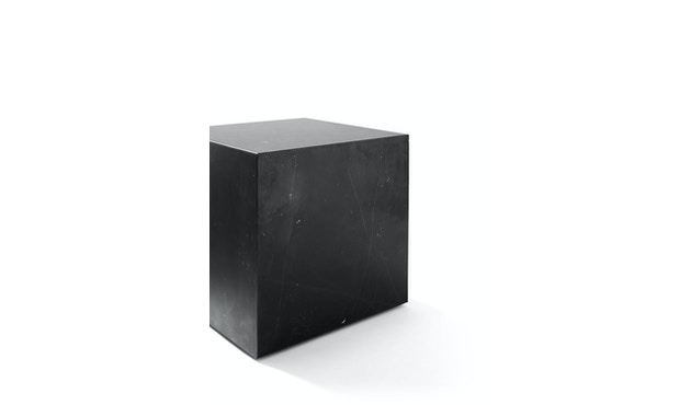 Menu - Plinth Tisch - zwart marmer - cubic - 2