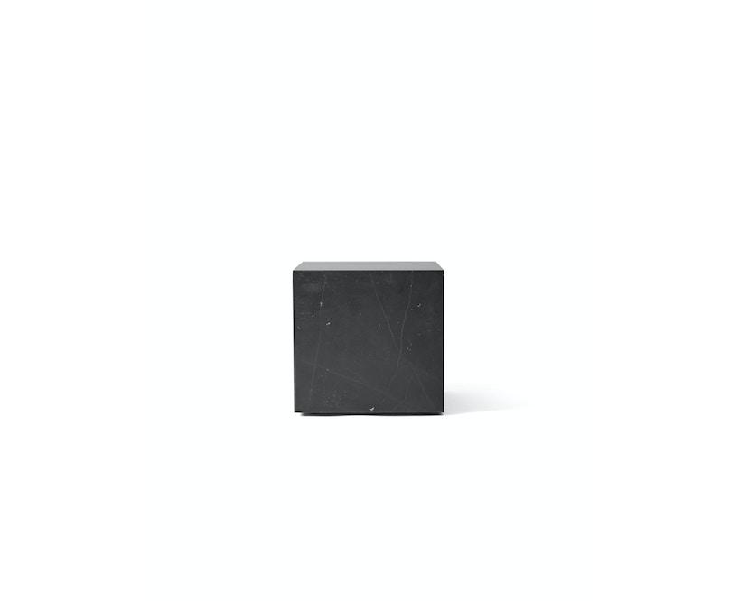 Menu - Plinth Tisch - zwart marmer - cubic - 3