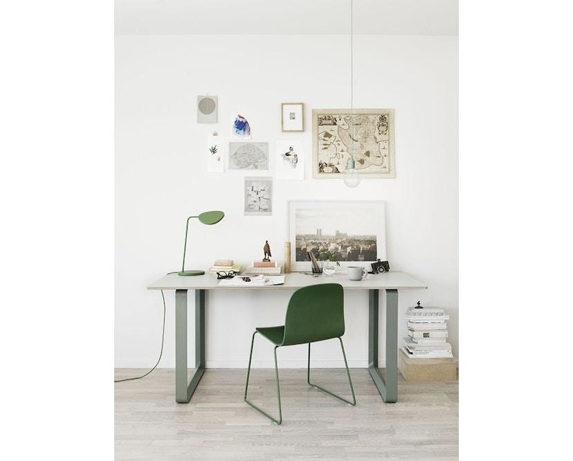 Muuto - Table 70/70 - blanc - Chêne - S - 8
