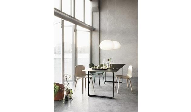Muuto - 70/70 Tisch S - Platte grau, Gestell grau - 5