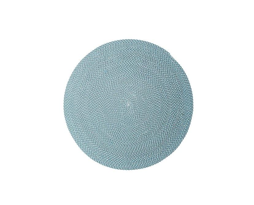Cane-line - Defined tapijt rond - turquoise - Ø140 cm - 1