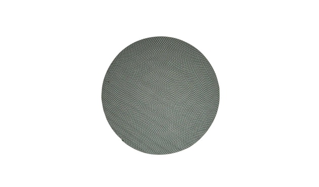 Cane-line - Defined Teppich Rund - klein - grün - 2