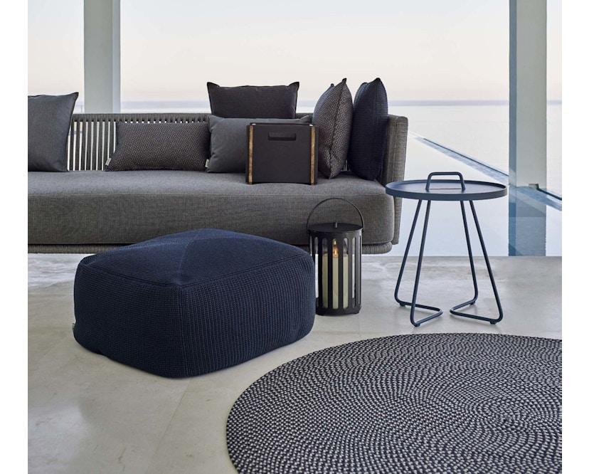 Cane-line - Defined tapijt rond - turquoise - Ø140 cm - 2