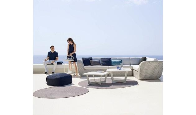 Cane-line - Defined tapijt rond - turquoise - Ø140 cm - 3