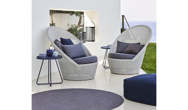 Cane-line - Defined tapijt rond - turquoise - Ø140 cm - 6