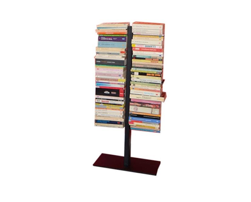 Radius - Booksbaum Bücherregal 2-reihig - klein - schwarz - 1