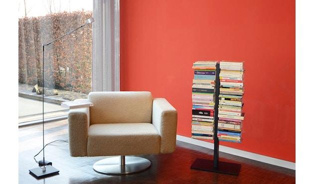 Radius - Booksbaum Bücherregal 2-reihig - klein - schwarz - 2