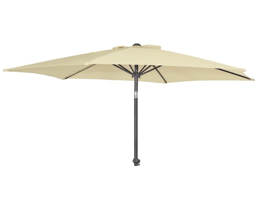 Alexander Rose - Parasol rond - Ø 270 cm - Aluminium - beige - 9