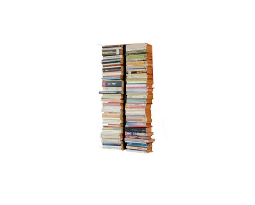 Radius - Booksbaum dubbel boekenwandrek - Hoogte 90 cm - zwart - 1